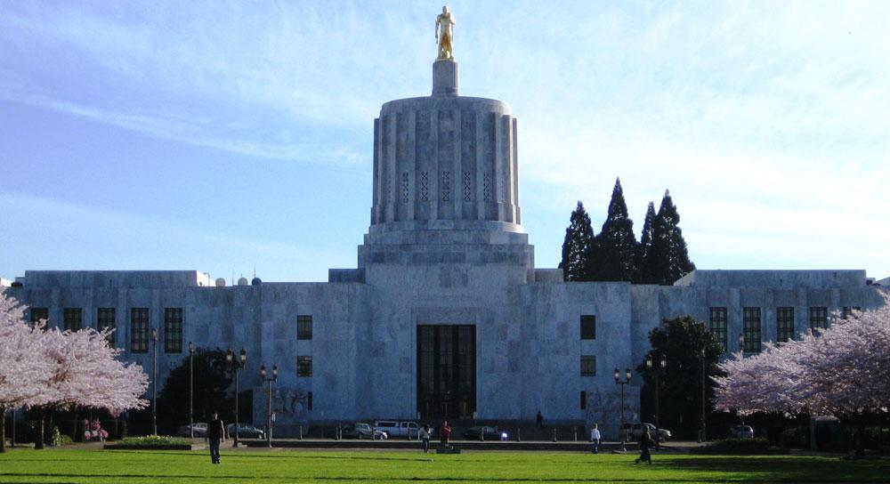 Изображение здания Капитолия штата Орегон
